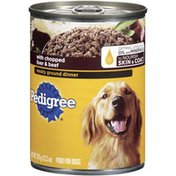 Pedigree W/Chopped Liver & Beef Wet Dog Food