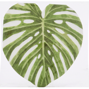 CR Gibson Lunch Napkins, Tropical Leaf, 3-Ply