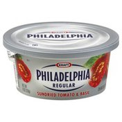 Philadelphia Cream Cheese Spread, Regular, Sundried Tomato & Basil