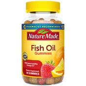 Nature Made Fish Oil Gummies with Omega-3s EPA and DHA - Strawberry, Lemon & Orange