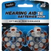 Signature Select Hearing Aid Batteries, Size 312