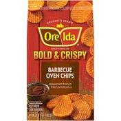 Ore-Ida Bold & Crispy Barbecue Oven Chips Seasoned French Fried Potatoes