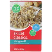 Food Club Skillet Classics, Stroganoff Pasta And Creamy Sauce Mix With Sour Cream