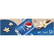 Pepsi Vanilla Cola Soda