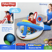 Fisher-Price Airplane Ball Pit, Little People, Age 2+