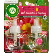 Air Wick Scented Oil, Lush Honeysuckle & Raspberry