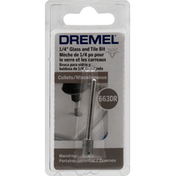 Dremel Glass and Tile Bit, 1/4 inch