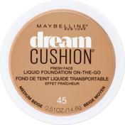 Maybelline Cushion Fresh Face Liquid Foundation Medium Beige