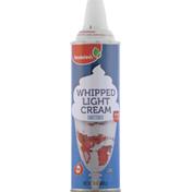 Brookshire's Whipped Light Cream, Sweetened