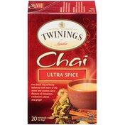 Twinings Ultra Spice Chai Tea Bags