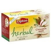 Lipton Tea Bags, Cinnamon Apple