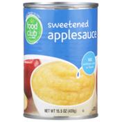 Food Club Sweetened Applesauce