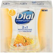Dial Complete 2 in 1 Moisturizing & Antibacterial Beauty Bar, Manuka Honey