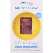 Natural Blue Ahi Tuna Poke with Sauce