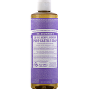Dr. Bronner's Soap, Pure-Castile, 18-in-1 Hemp, Lavender