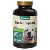 NaturVet Senior Bladder Support Plus Cranberry Time Release Chewable Tablets For Dogs