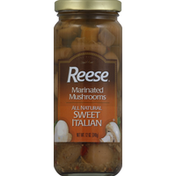 Reese's Mushrooms, Marinated, Sweet Italian