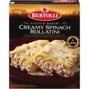 Bertolli Creamy Spinach Rollatini Rustico Bakes