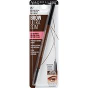 Maybelline Defining Pencil, Brow Ultra Slim, Medium Brown 257
