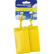 CONAIR ID Tags, Jelly, Yellow