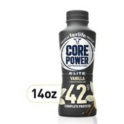 Core Power Elite High Protein Shake (42G), Vanilla, Ready To Drink For Workout Recovery