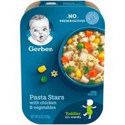 Gerber Pasta Stars with Chicken and Vegtables