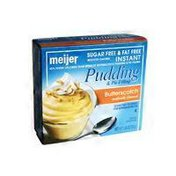 Meijer Butterscotch Flavored Pudding & Pie Filling