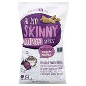 Hi Im Skinny Quinoa Sticks, Ancient Grains, Sweet Onion