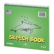"Roaring Springs Roaring Spring Sketch Book 9""x9"" - 40 Sheets"