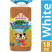 Brownberry Organic Kids White made with Whole Wheat Bread
