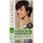 Clairol Natural Instincts Hair Color, Medium Cool Brown 5A