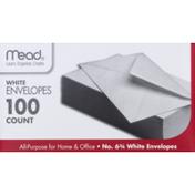 Mead No. 6 3/4 White Envelopes