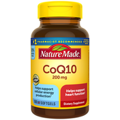 Nature Made CoQ10 200 mg Softgels Value Size Bonus Bottle