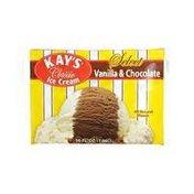 Kay's Vanilla & Chocolate Square Ice Cream