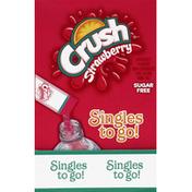 Crush Drink Mix, Sugar Free, Strawberry