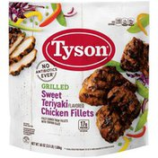 Tyson Grilled And Ready Tyson® Fully Cooked Grilled Sweet Teriyaki Chicken Thigh Fillets, 3.5 lb. (Froze