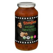Uncle Steve's Italian Specialties Uncle Steve's Organic Tomato Basil