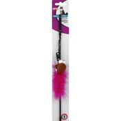 SPOT Cat Toy, Catnip, Feather Boa Wand