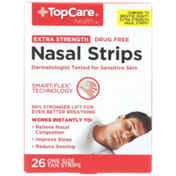 TopCare Extra Strength One Size Nasal Strips, Tan