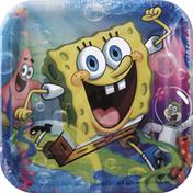 DesignWare Plates, SpongeBob Epic, 9 Inch