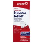 Leader Nausea Relief, Cherry, Children, Adult