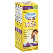 Hyland's Cold 'n Cough, Natural Grape Flavor