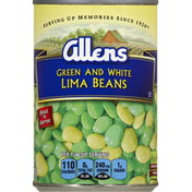 Allen's Lima Beans, Green and White