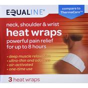 Equaline Heat Wraps, Neck, Shoulder & Wrist