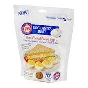 Eggland's Best Eggs, Hard-Cooked Peeled, Medium