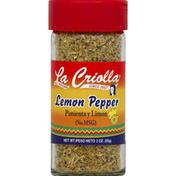 La Criolla Lemon Pepper