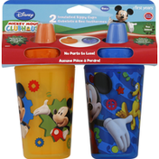 The First Years Sippy Cups, Insulated, Disney Mickey Mouse Clubhouse, 9M+