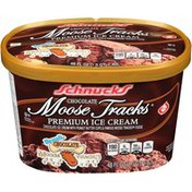 Schnucks Chocolate Moose Tracks Ice Cream