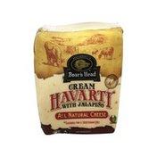 Boar's Head Cream Havarti Cheese With Jalapeno