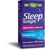 Nature's Way Sleep Tonight Melatonin Lozenges